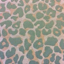 Upholstery Weight Fabric Cheetah Wild Thing Aqua Blue Gold Platinum Heavy Weight Jungle