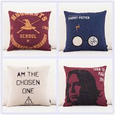 harry potter bedroom decor 18 quot harry potter square cushion pillow cover no stuffing
