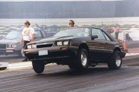 Black Fox Body Mustang Historical Fox Body Drag Race Ford Mustang Photos