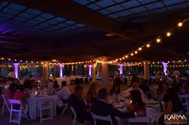 Restaurant String Lights by Karma Event Lighting For Weddings And Special Events