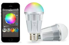 change the color of the lumen tl800 led smart bulb with an iphone