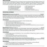 resume chrono functional hybrid resume sample form download