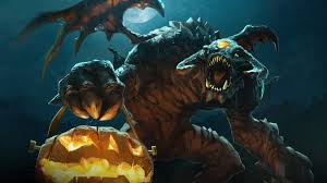 halloween hd wallpapers 1920x1080 roshan halloween dota 2 3b wallpaper hd