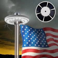 bright night solar lighting 26 led flag pole light super bright night powerful solar powered