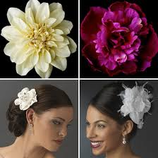 flower hair clip hot wedding accessory bridal flower hair and pins with bling