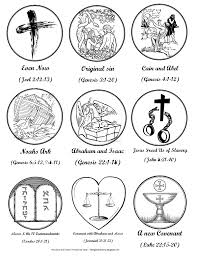 jesus tree ornaments to color pdf for lenten tree lent ideas for