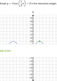 graph sinusoidal functions practice khan academy