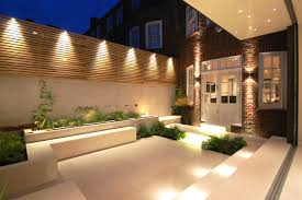 garden wall lighting ideas with cadagu new outdoor designs home