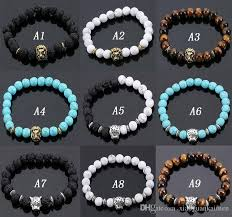 beads bracelet images Best volcanic stone lions head bracelet fashion buddhist buddha jpg