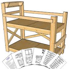 Woodworking Plans Bunk Beds by Twin Size Bunk Bed Plans Medium Height Op Loftbed