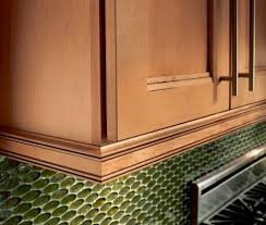 Kitchen Cabinets Lighting by Waypoint Inset Light Rail Molding In Maple Coffee Glaze Home