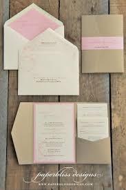 diy pocket wedding invitations pocketfold wedding invitations our wedding ideas