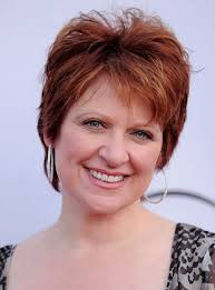 red hair for over 50 caroline manzo layered short red pixie cut for women over 50