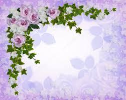 Gardenias by Roses And Gardenias Floral Border U2014 Stock Photo Irisangel 2462199