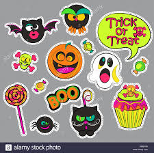 owl halloween cupcakes halloween patch badges with ghost and pumpkin candy and cat owl