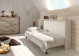 chambre une personne lit rabattable horizontal basic 1 personne lit encastrable