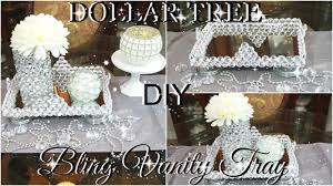 vanity trays for perfume dollar tree diy blinged out vanity tray collaboration with so