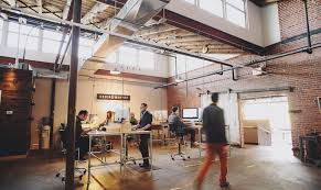 Office Industrial Office Space Awesome Amara Collins U0026 Mortar Studio Industrial Interior Design Love