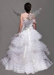 katniss everdeen wedding dress costume how i made that katniss s catching wedding gown wings