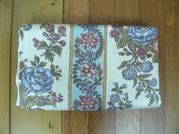 Waverly Upholstery Fabric Sales Sale 1 6 Yds Waverly Upholstery Fabric Vintage Cotton Floral Blue