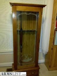 gun cabinet for sale gun cabinet glass front gun cabinet shock wood with etched home