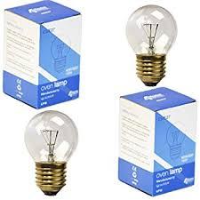 Refrigerator Light Bulbs Philips 416768 Clear Appliance 40 Watt A15 Light Bulb