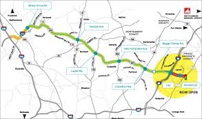 me a map of maryland intercounty connector