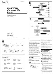 sony clock radio manual search sony sony car cd player user manuals manualsonline com