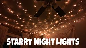Starry Night Ceiling by Starry Night Lights Youtube
