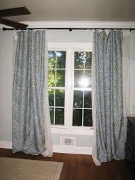 Curtains For A Closet by Interior Stainless Steel Tension Curtain Rods With White Curtains