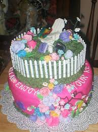 flower garden retirement cake cakecentral com