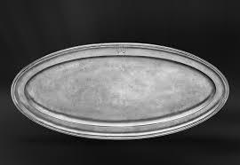 pewter platter oval pewter tray fish platter italian pewter serveware