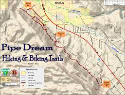Park City Utah Trail Map by Moab Mountain Biking Trails Moab Mountain Bike Trail Information