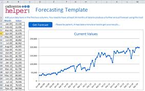 Demand Forecasting Excel Template by Monthly Forecasting Excel Spreadsheet Template