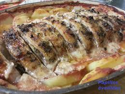 cuisiner un roti de porc au four rôti de porc au four pommes de terre et sauce tomate papilles