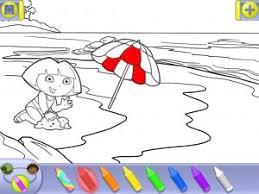dora explorer coloring adventures ipad children u0027s