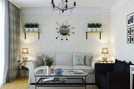 wall decor for living room diy black wood wall accent shelves
