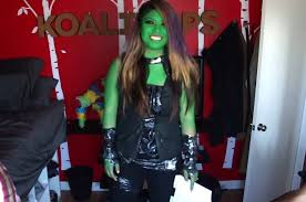 gamora costume how to make a gamora guardians of the galaxy costume for only 5