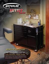 waterloo tattoo workstations request sales literature tattoos
