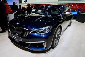 bmw fastest production car the fastest bmw 7 series model shines in detroit