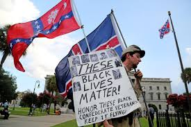 Flying The Flag Upside Down Confederate Flag U0027s Fate In Hands Of South Carolina House News