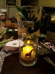 Baby Boy Shower Centerpiece by Best 25 Safari Centerpieces Ideas On Pinterest Jungle Party