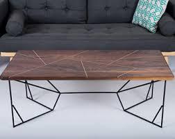 Modern Walnut Coffee Table Coffee Table Modern Coffee Tables Midcentury Modern