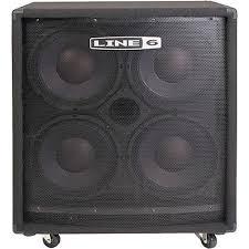 low down sound bass cabinets line 6 lowdown 410 bass cabinet with 4 x 10 99 030 1501