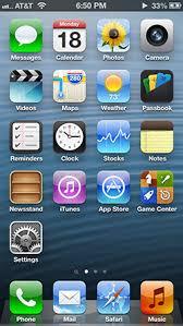 Iphone 5 Top Bar Icons Ios 6 Wikipedia