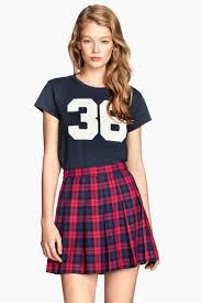 plaid skirt pleated skirt sale h m us