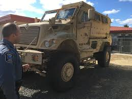 military transport vehicles n j cops u0027 2 year military surplus haul 40m in gear 13 armored