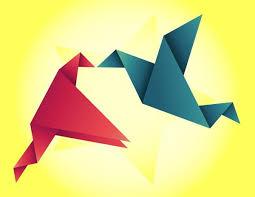 Origami Illustrator - 9 origami vectors eps png jpg svg format free