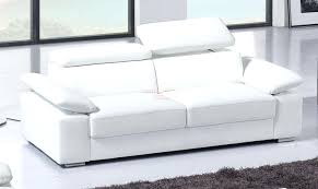 canape chesterfield blanc canape convertible cuir canap noir with but 2 places conforama