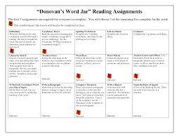 donovan u0027s word jar lesson plans spelling worksheets doc book
